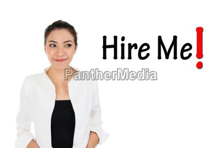 recruitment for human resources management concept