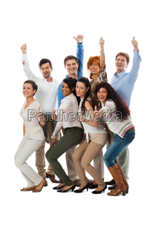young, group, team, with, people, different - 10207849