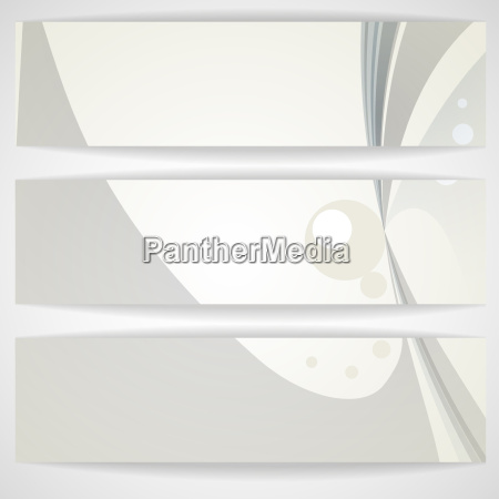 abstract gray banner