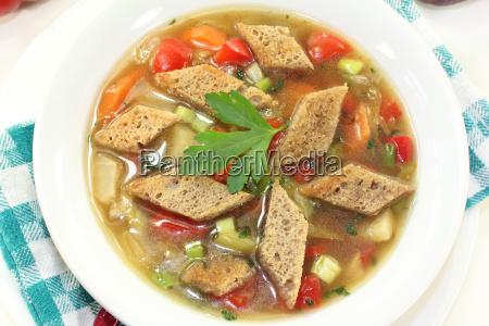 bread soup