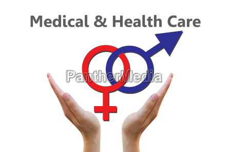 sex symbol for medical and healthcare
