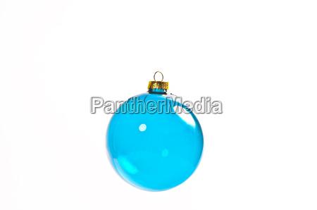 blue christmas ball exempted