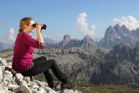 panorama of the mountains to enjoy