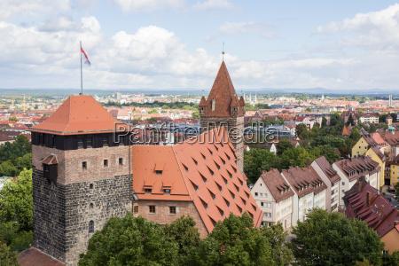 towers in nuremberg castle