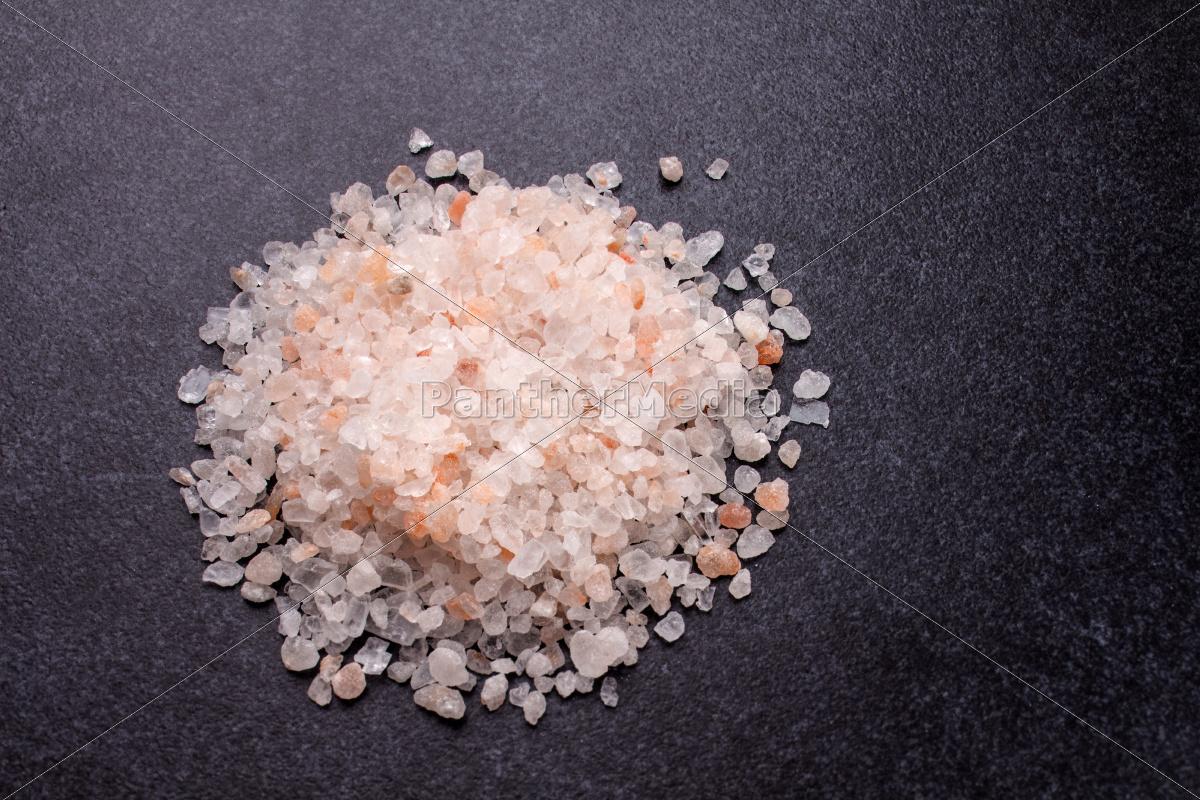 coarse, rock, salt, on, granite, slab - 10219239
