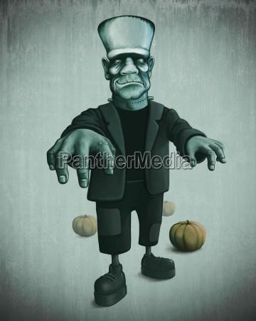 halloween, monster - 10219029