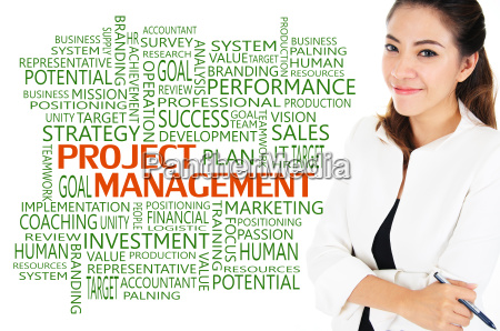 project management for business concept