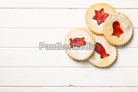 jelly christmas cookies