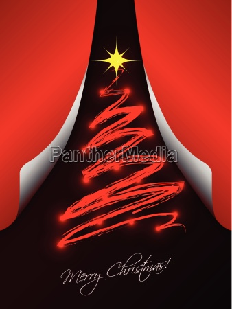 christmas, card, with, folding, papers - 10222809