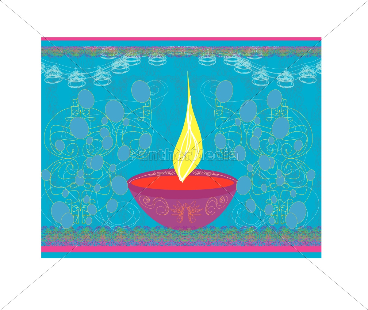 abstract, diwali, celebration, background, , vector, illustration - 10226849