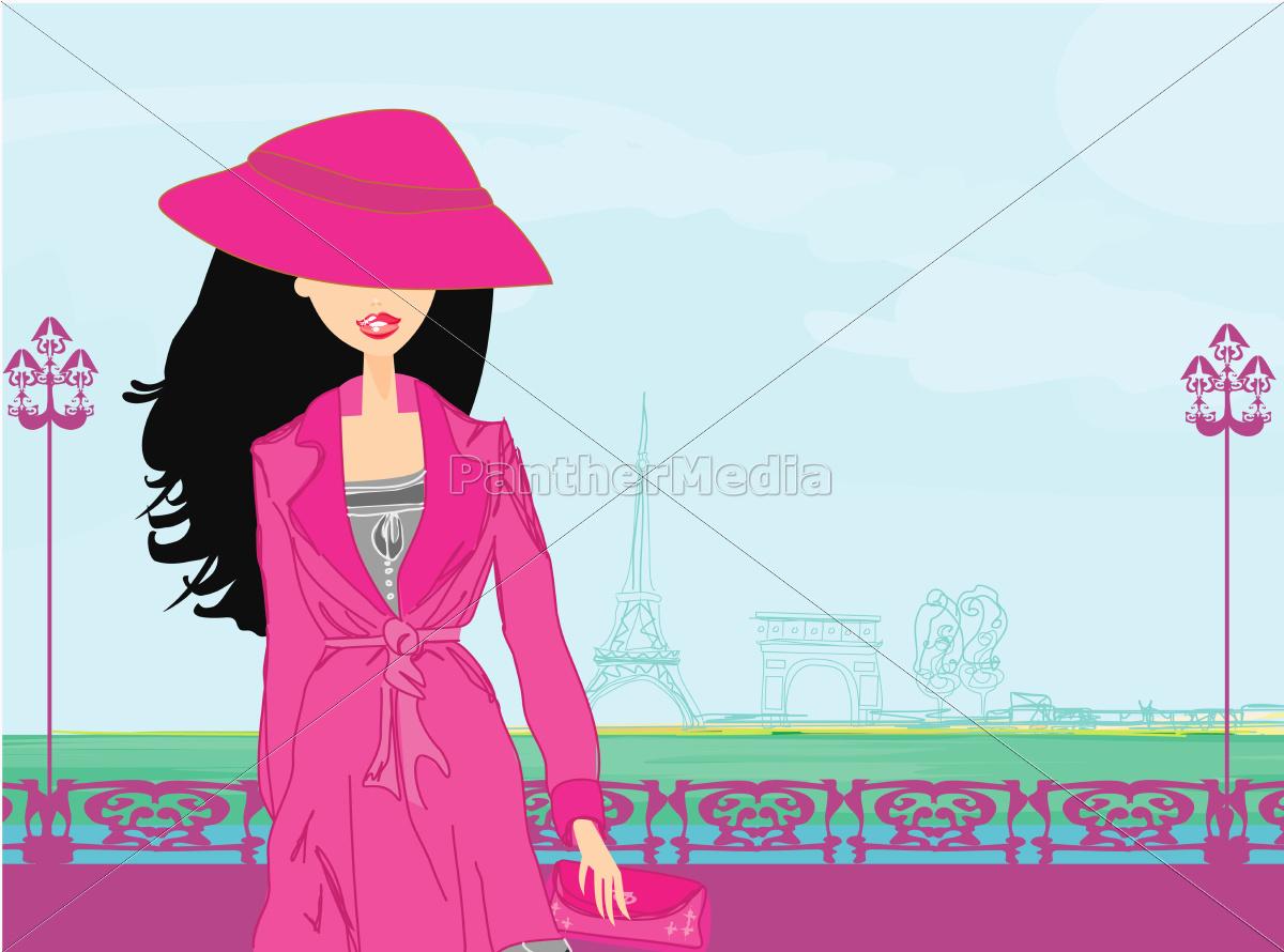 beautiful, women, shopping, in, paris - 10228729