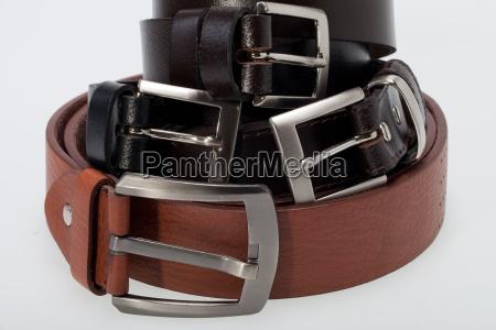 men black and brown belt