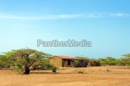 rustic house in la guajira