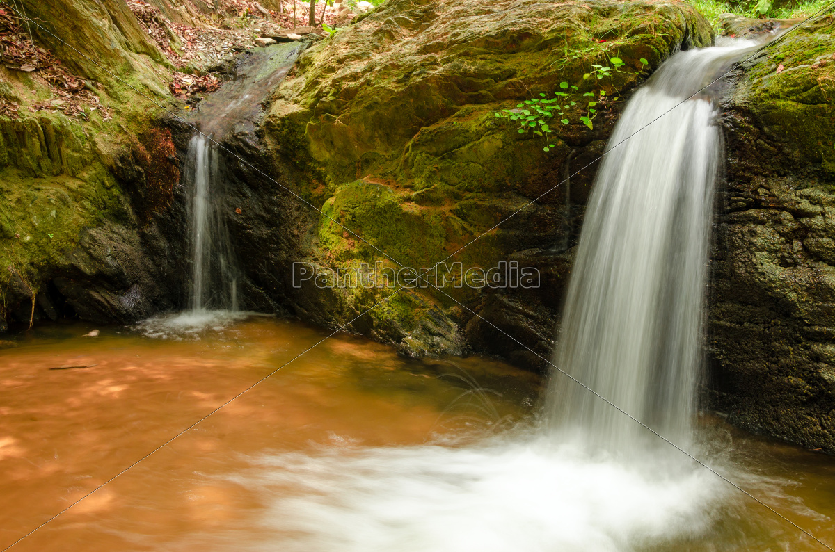 two, small, waterfalls - 10239005