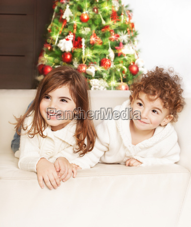 lovely, children, at, christmas, party - 10240367
