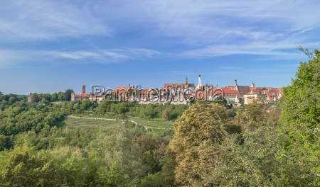 tourist resort rothenburg ob der tauber