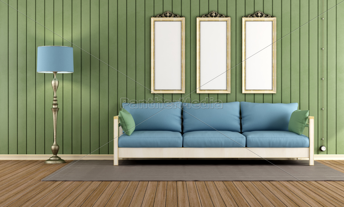 vintage, , green, room - 10257521