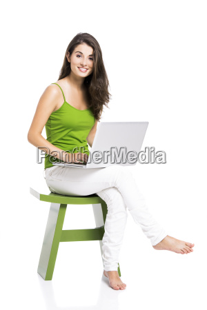 working, at, home, with, a, laptop - 10259451