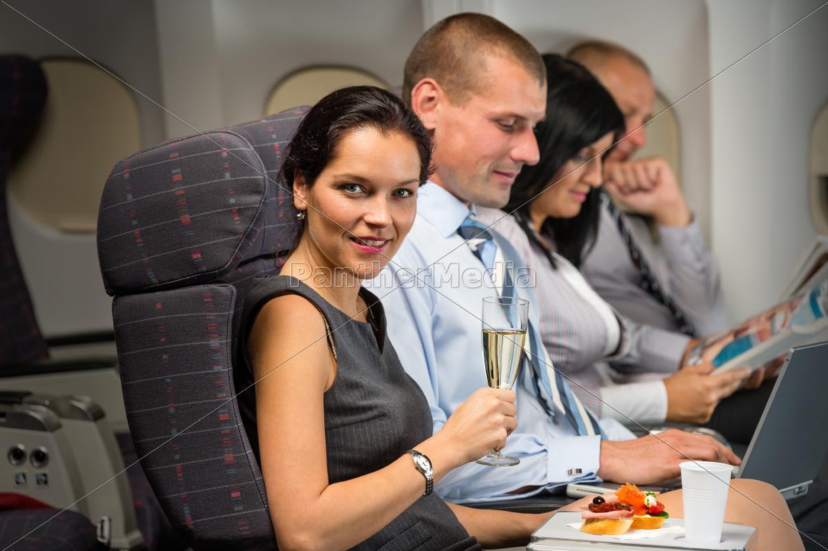 business, travel, by, plane, woman, enjoy - 10269355