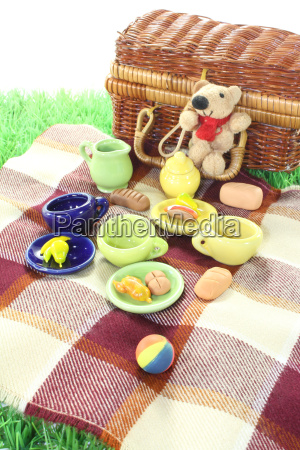 picnic with ball