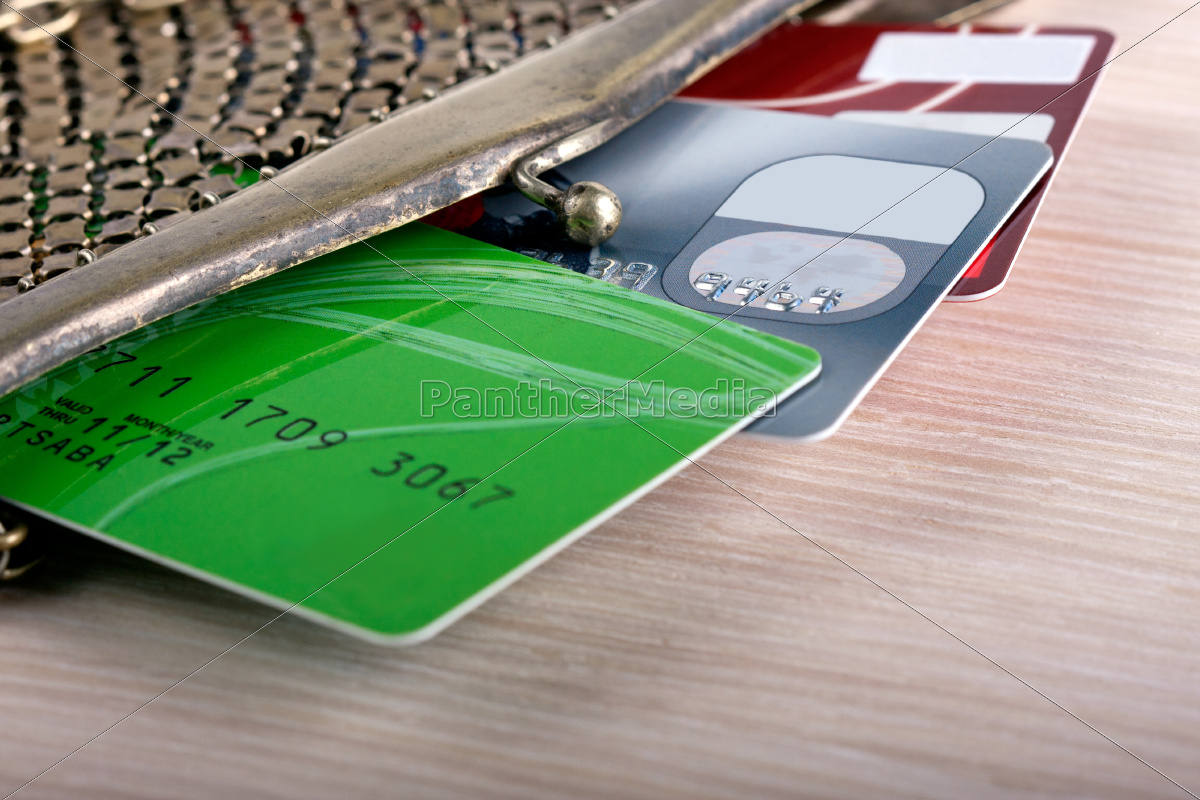 wallet, with, credit, cards - 10270267