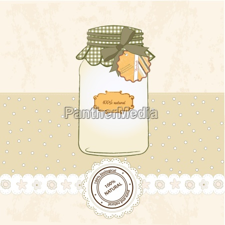 pure, biological, food, jar - 10272569