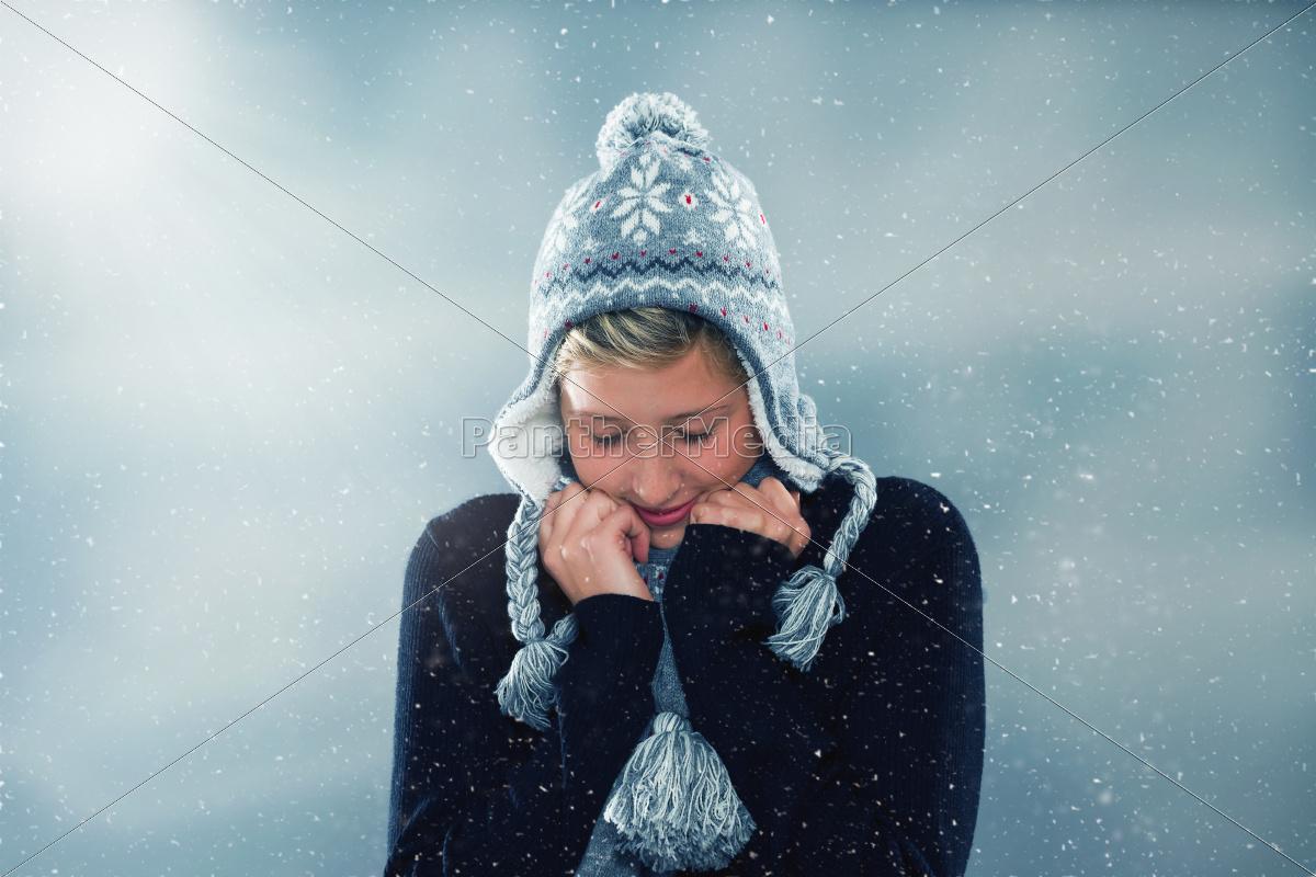 freeze, in, winter - 10281011