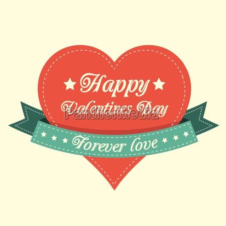 vintage, valentines, card - 10282573