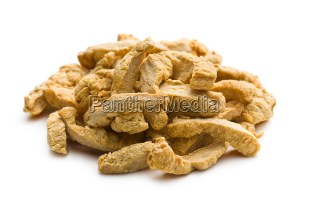 pile of soy meat