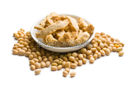 soybeans and soy meat