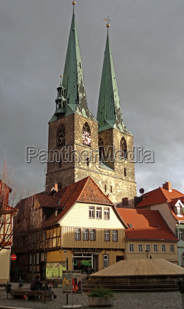 nikolai church in quedlinburg