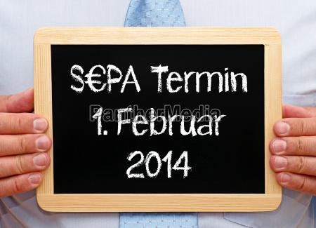 sepa date february 1 2014