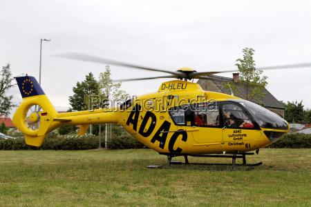 eurocopter ec 135 of adac luftrettung