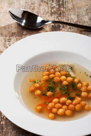 bavarian baked pea soup