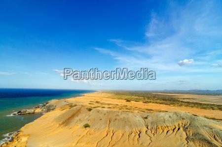 desert and sea