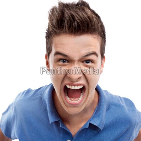 angry, man, shouting - 10311713