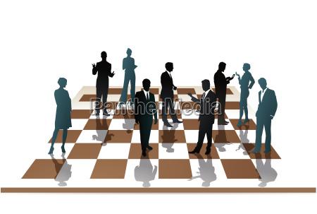 employee, chess - 10311663