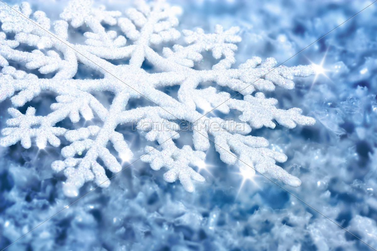 blue, background, with, snowflake - 10318059