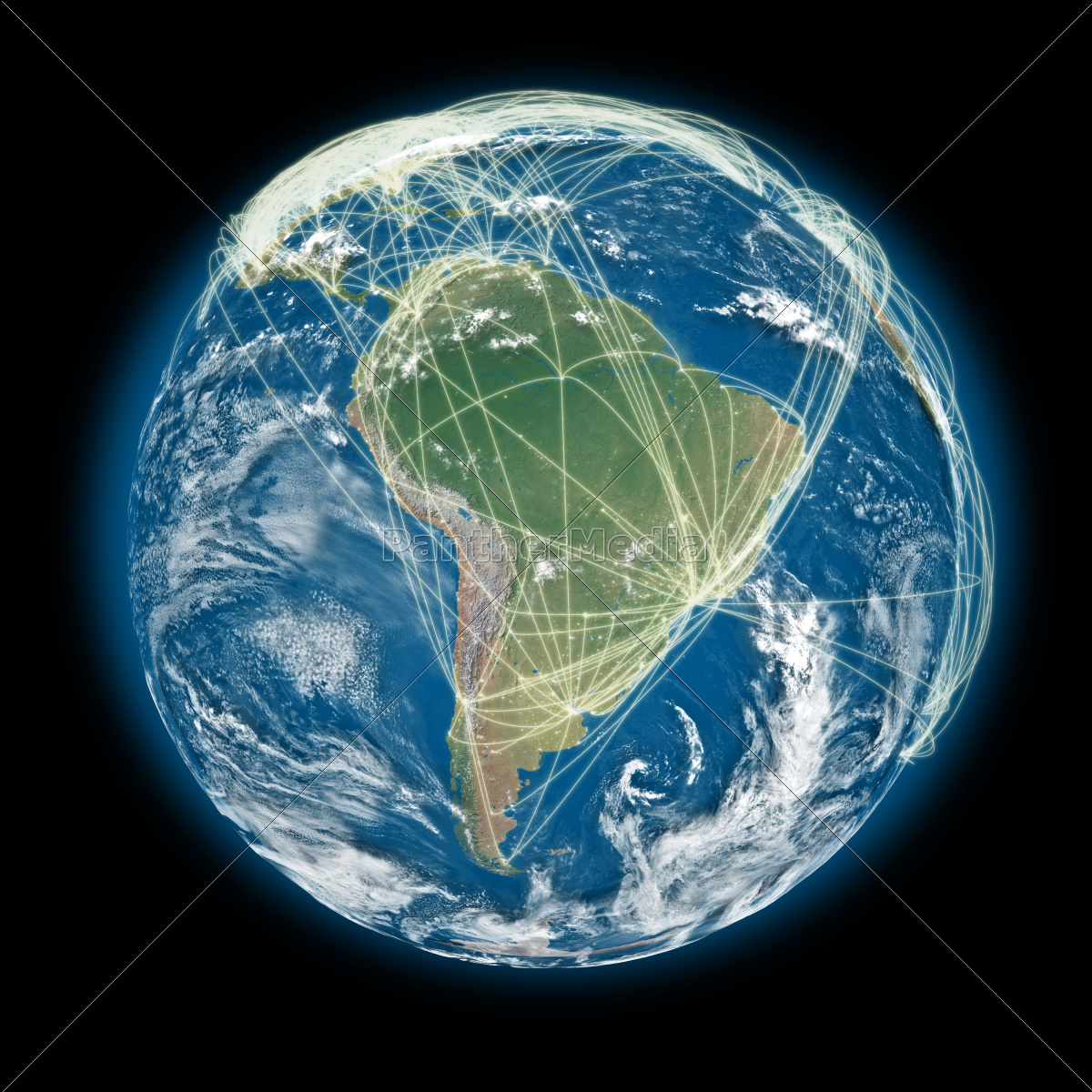 connected, world, south, america, view - 10324009