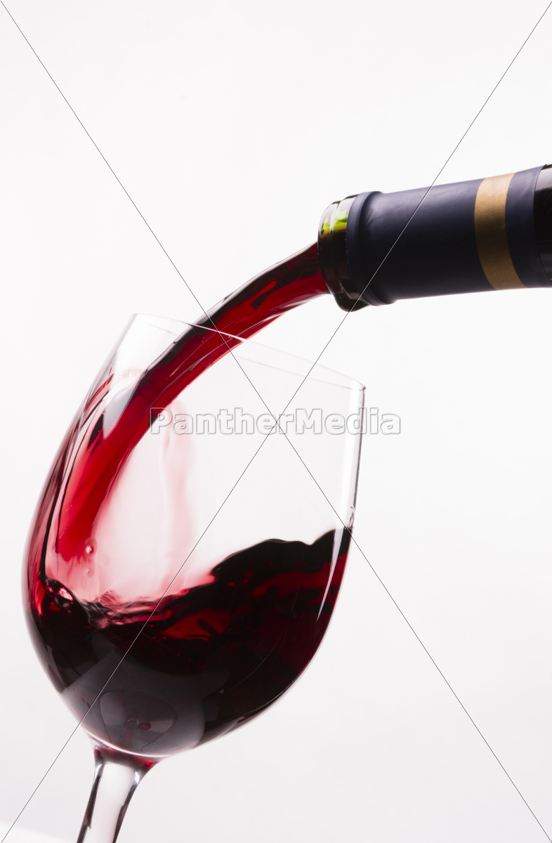red, burgundy, wine, drink, filling, stemmed - 10326597