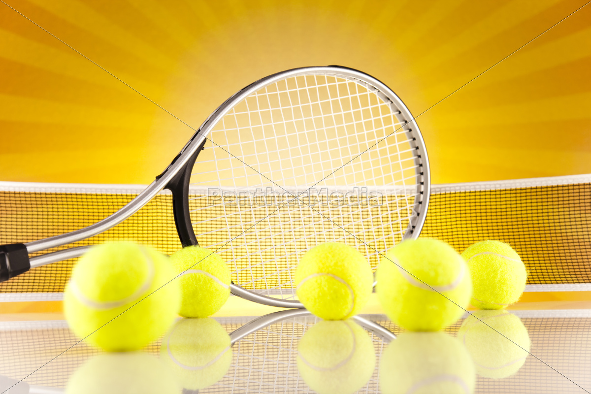 tennis, racket, and, balls - 10329597