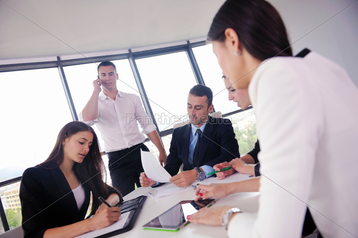 business, people, group, in, a, meeting - 10334501