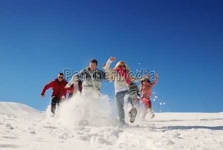 friends, have, fun, at, winter, on - 10334611
