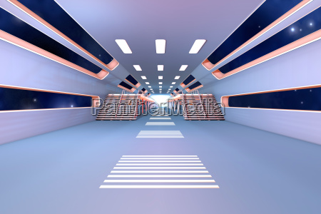 space, station, interior. - 10334133