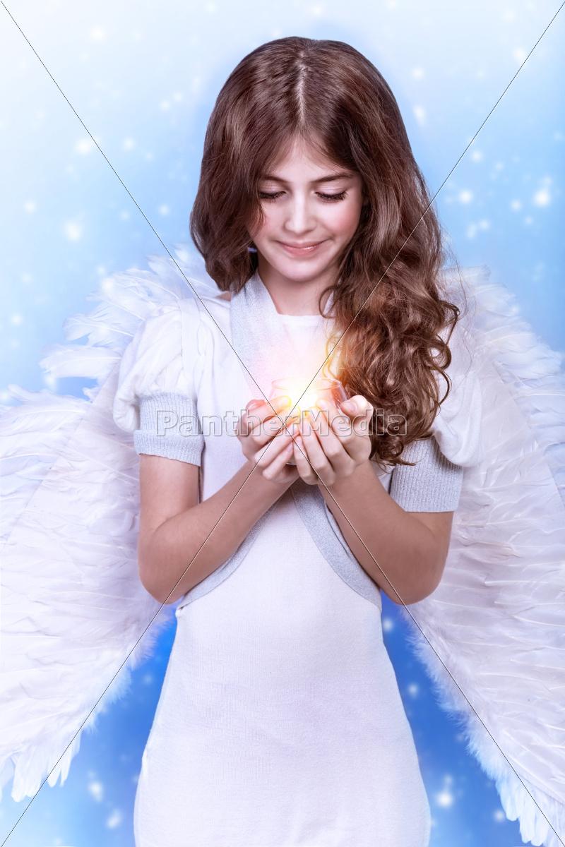 cute, christmas, angel - 10385465