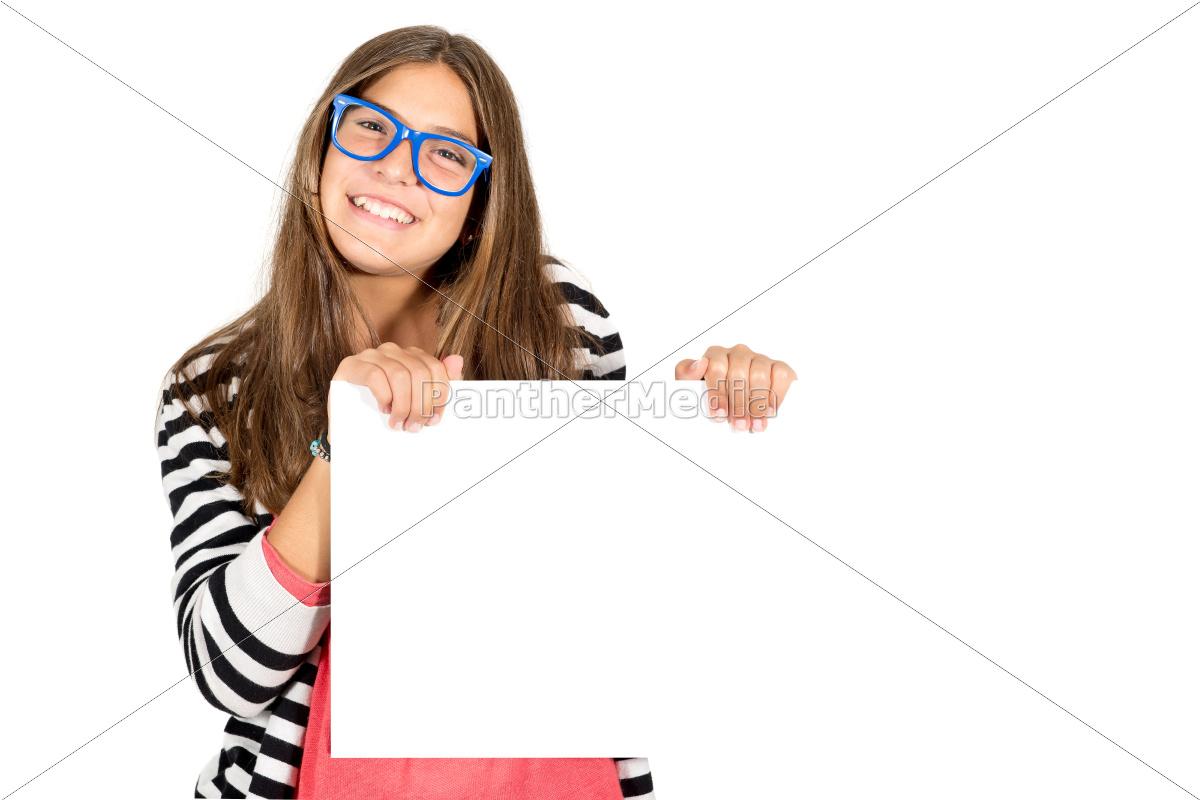 happy, teen, girl - 10385595