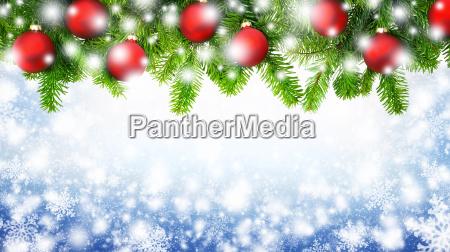 weihnachtlicher snowflakes background