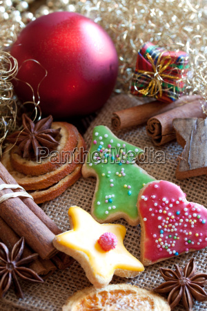 sweet christmas cookies