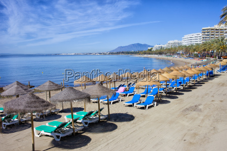 beach, on, costa, del, sol, in - 10398169