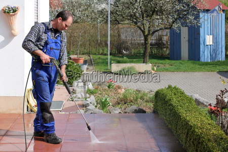 spring, cleaning, on, the, terrace - 10405703
